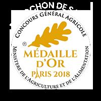Médaille d'or Reblochon de Savoie