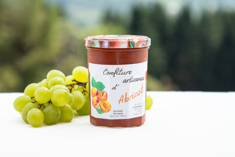 Confitures au Fruits de Haute Savoie