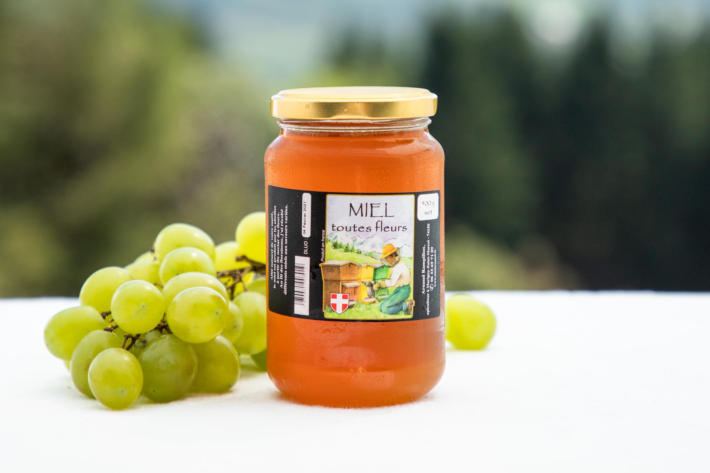 """Miel de Haute Savoie """"Toutes Fleurs"""""""