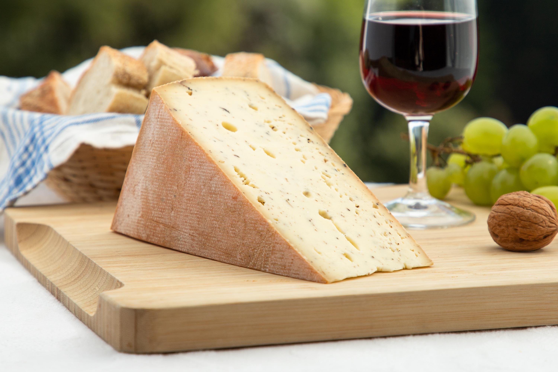 Fromage à Raclette Maison aux Poivres Lait Cru